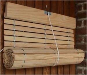 Tipos de persianas de madera